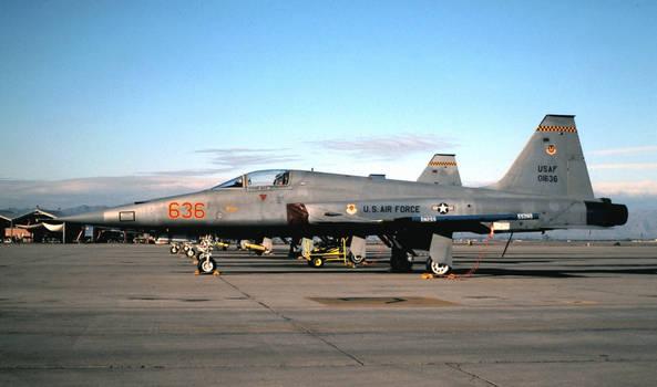 64th FWS F-5E No. 1