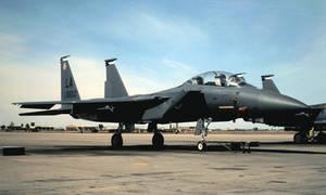 Silver Eagles 'Boss Bird' F-15E
