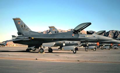 Nellis Block 32 F-16C No. 1