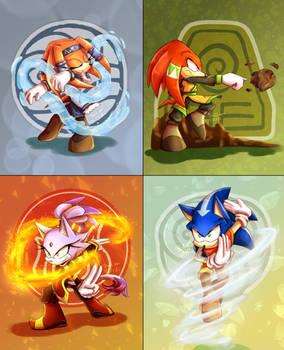 Sonic in Avatar ^^