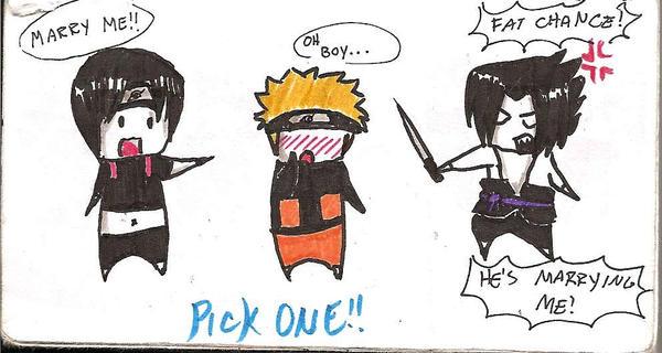 SasuNaruSai: Pick One by xXGay-SauceXx