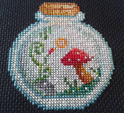 Biosphere cross stitch part 1 by Maple-Girl