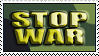 Stop War Stamp by pitto-stamps