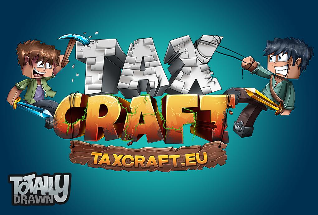 Minecraft server logo taxcraft by totallyanimated on - Pokemon logo minecraft ...