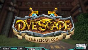 Minecraft server logo: Dyescape