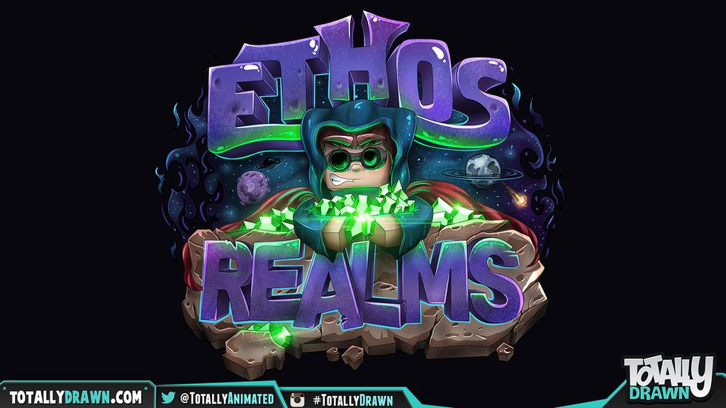 Minecraft Server Logo Ethos Realms By Totallyanimated On