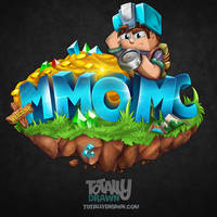 Minecraft Server Logo - MMOMC