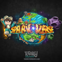 Minecraft Server Logo - SparkVerse Art
