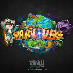 Minecraft Server Logo - SparkVerse Art