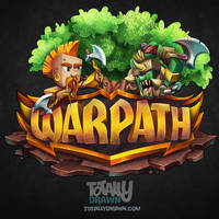 Minecraft Server Logo - Warpath