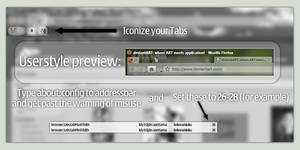 Faviconize Firefox Tabs
