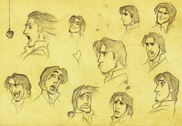 The Many Faces of Flynn Rider by nataliebeth