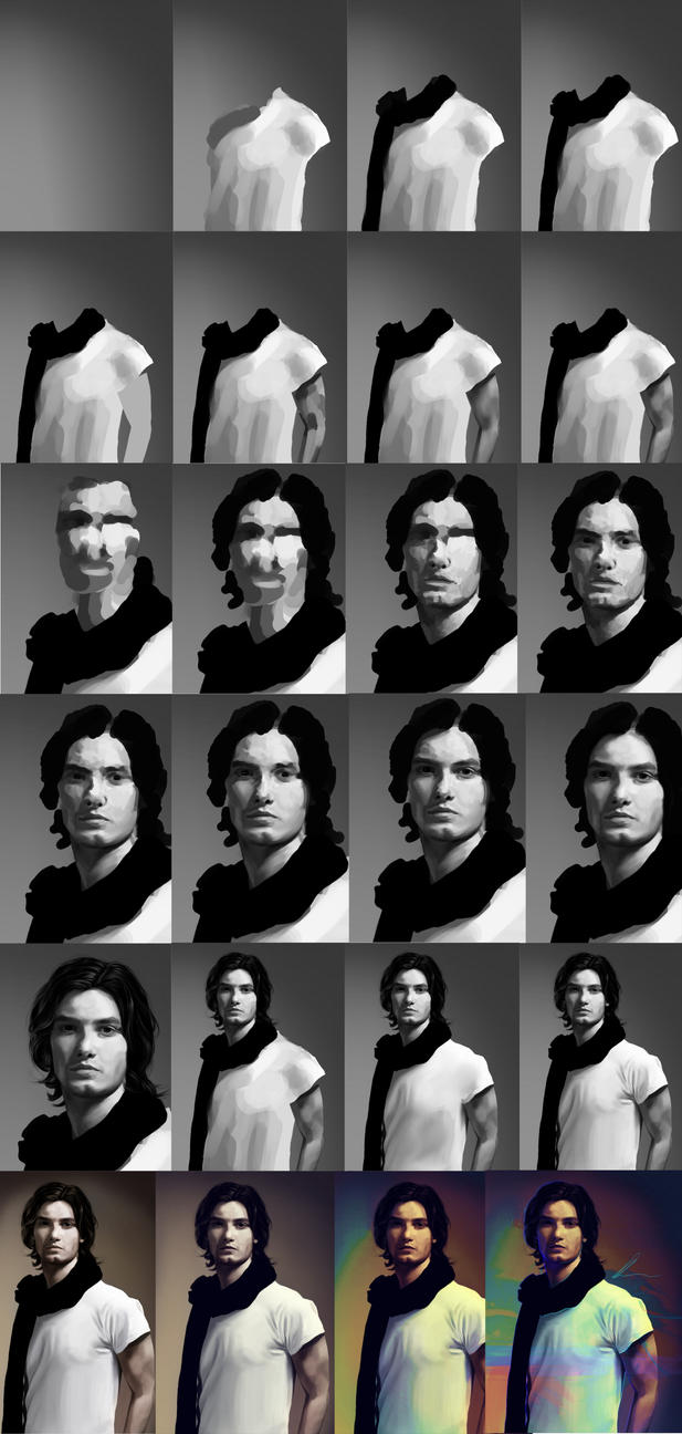 Ben Barnes - Step by Step by nataliebeth