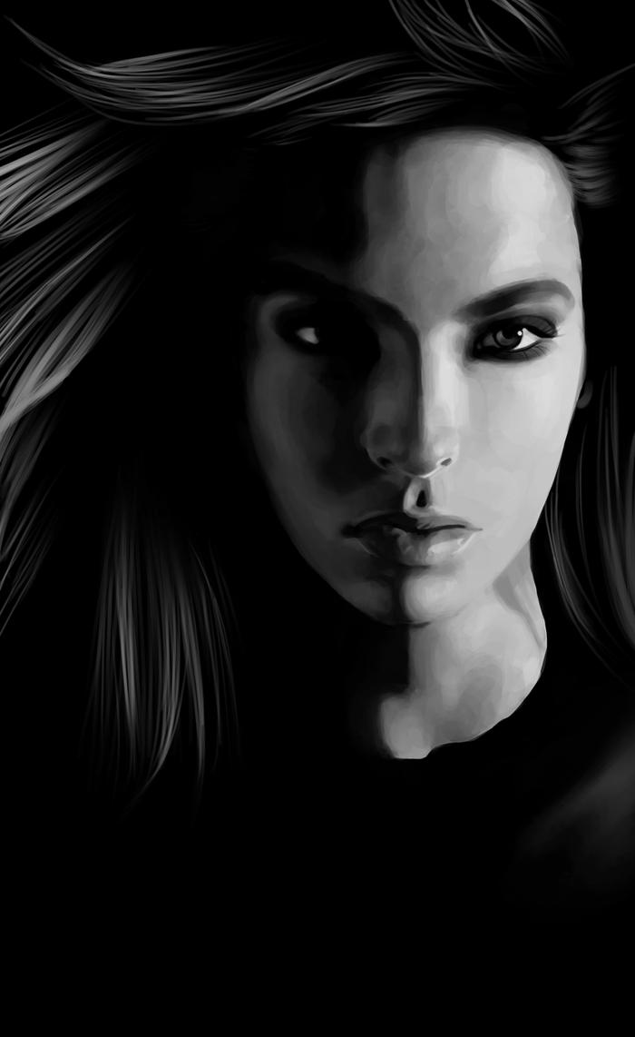 Bill Kaulitz - Digital Painting by nataliebeth