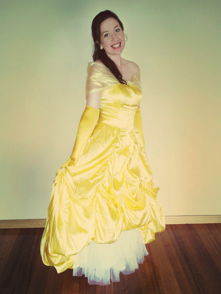 Princess Belle - Beauty and the Beast by nataliebeth