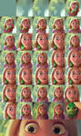Rapunzel Painting - Step-by-Step