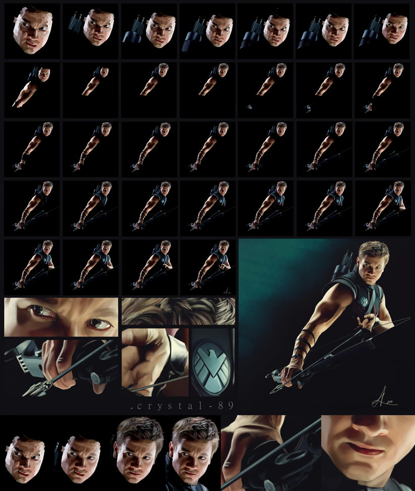 Hawkeye - Step by Step by nataliebeth