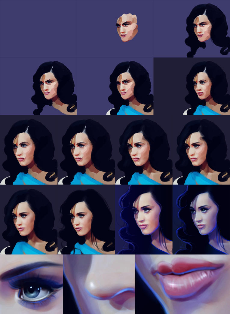 Katy Perry Step-by-Step by nataliebeth