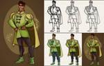 Digital Sketch - Prince Naveen + Video