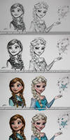 Tutorial/Step-by-Step of Frozen Painting