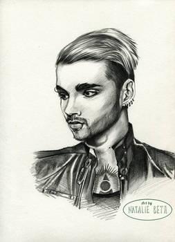 Bill Kaulitz Pencil Sketch