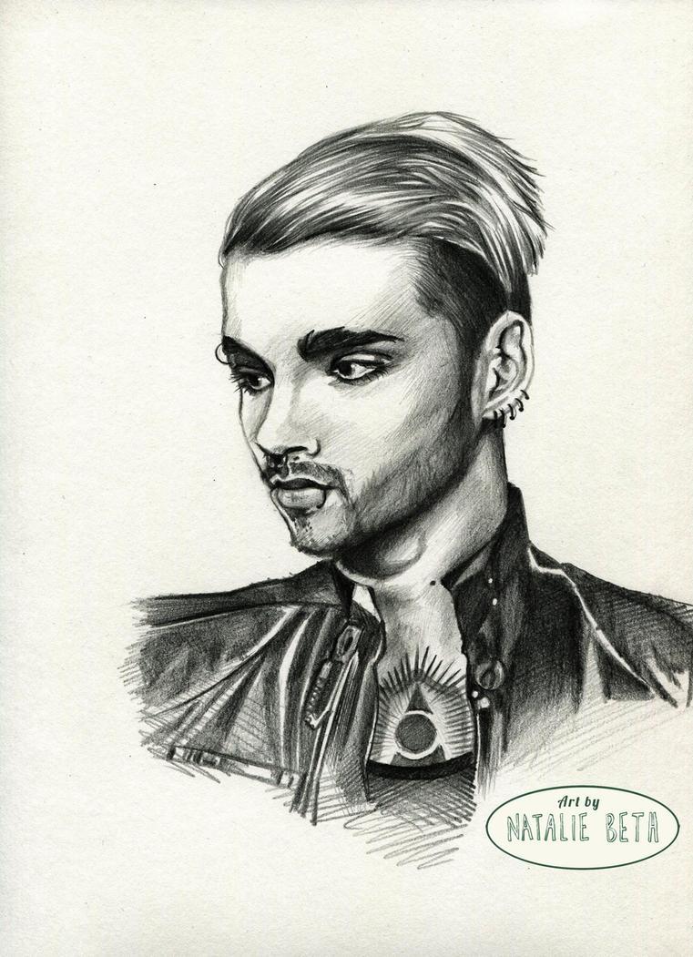 Bill Kaulitz Pencil Sketch by nataliebeth
