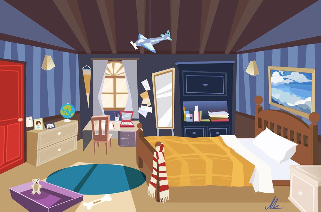 Second Digital Bedroom Concept by nataliebeth