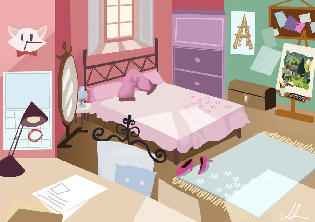 Digital Bedroom Concept by nataliebeth