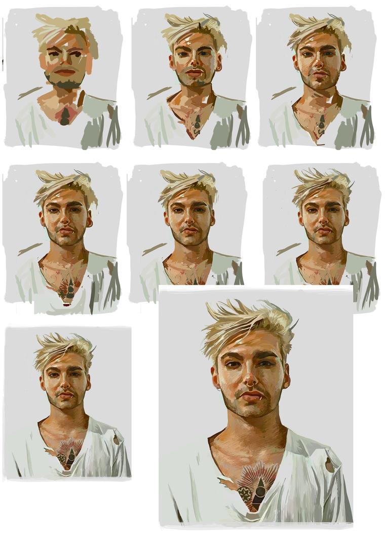 Steps of Bill Kaulitz - Nostalgia by nataliebeth