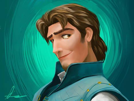 Flynn Rider - Drawing + Video