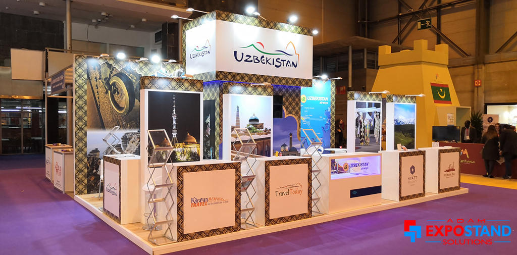 Expo Exhibition Stands In : Ifema madrid exhibition stands design contractor by adamexpostand on