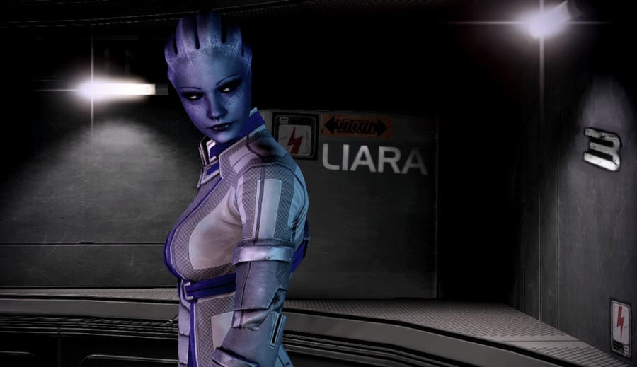 Liara Tsoni Wallpaper By Oliveooomph On Deviantart