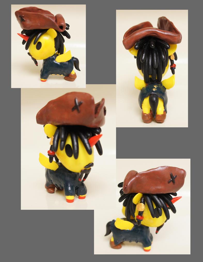 Jack Sparrow Unicorno by chibimonkies