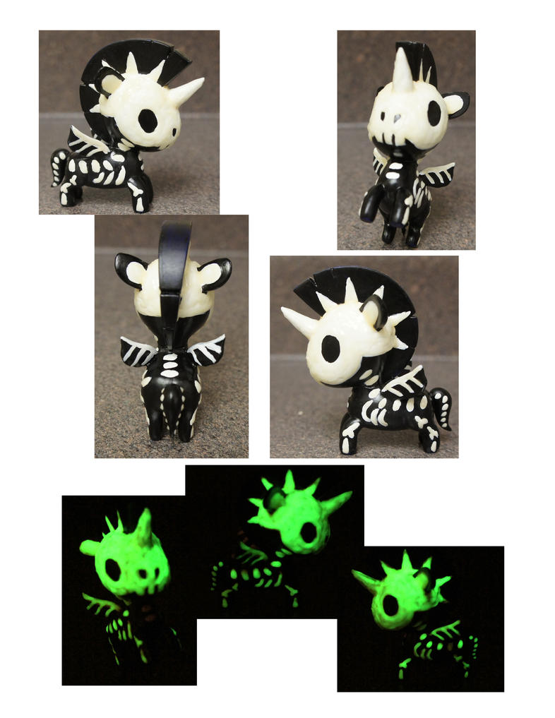 Skelecorno by chibimonkies