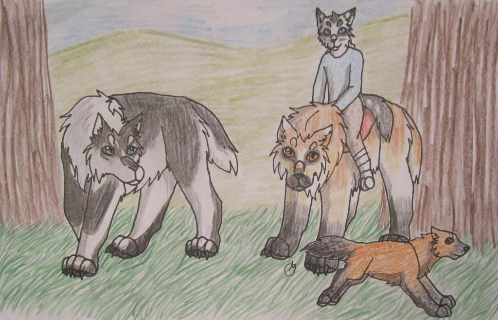 Hunting-Aeresella (20/40), Awi by taikunfoo