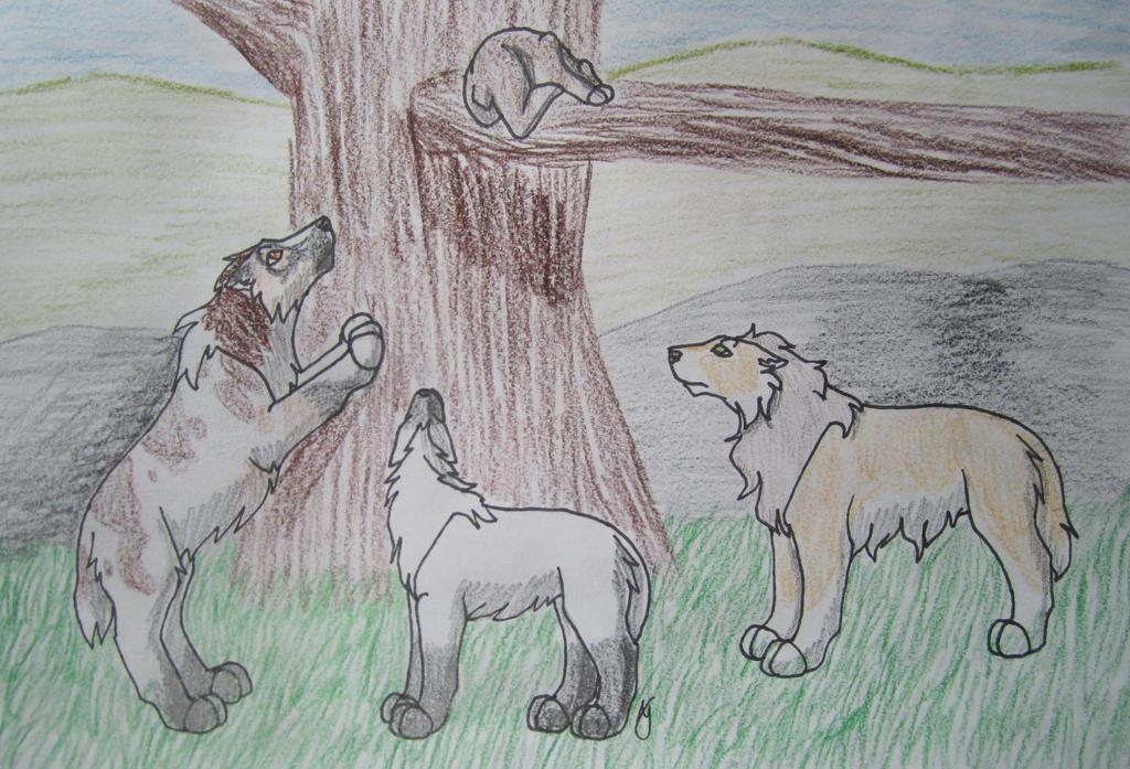 Bear Hunt-Cordelia 2/5, Ekaterina (11/30), Olen by taikunfoo