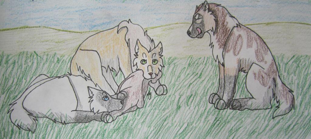 Bear Hunt-Cordelia 5/5, Ekaterina (27.5/30), Olen by taikunfoo