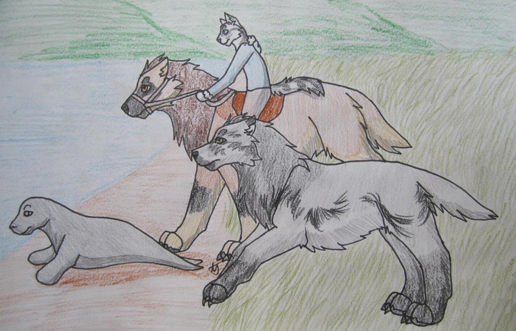 Hunting-Enzo(50.5/50), Tsulo by taikunfoo