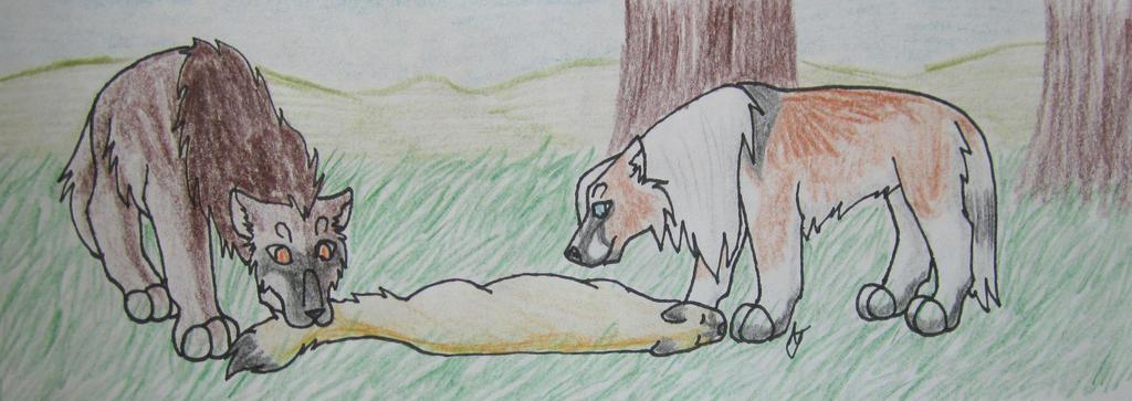 Hunting- Legolas (2/5), Mocha by taikunfoo