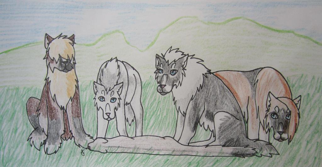 Hunting- Legolas (4/5), Iduna (31.5/50), Azsh (5.5 by taikunfoo