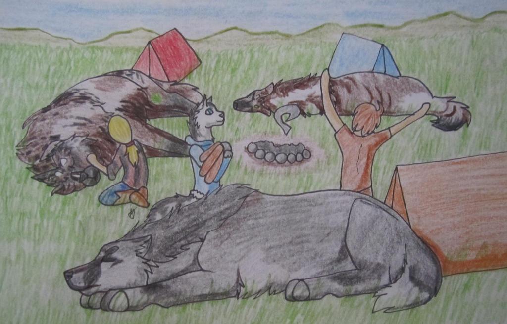 RoF-Sitara, Gideon, Indy by taikunfoo