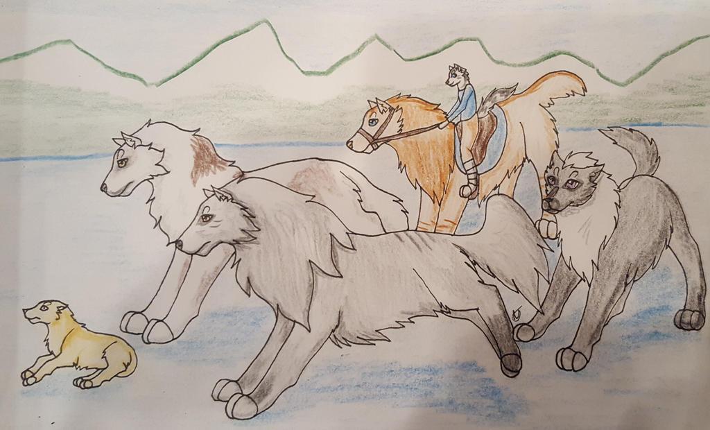 Coyote Hunt 3 by taikunfoo