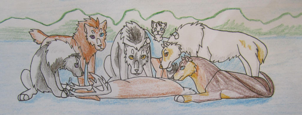 Caribou Hunt 2 by taikunfoo