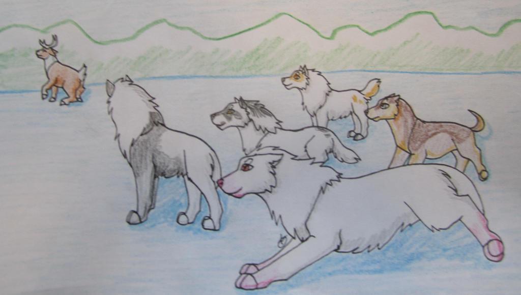 Caribou Hunt 3 by taikunfoo