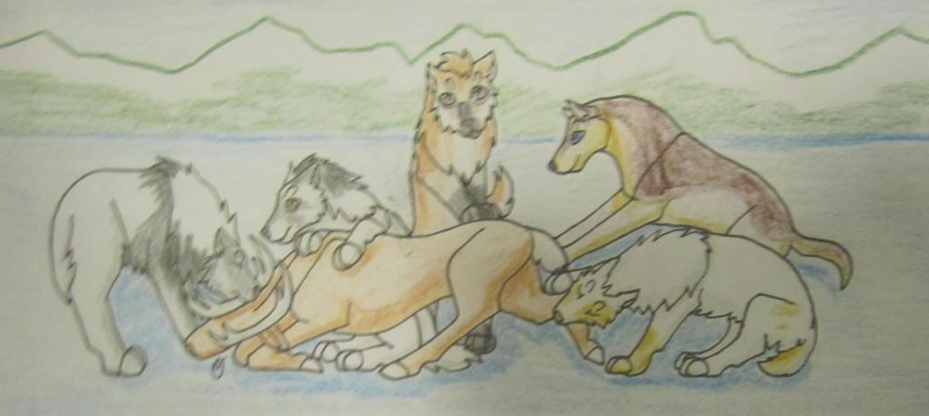 Caribou Hunt 4 by taikunfoo
