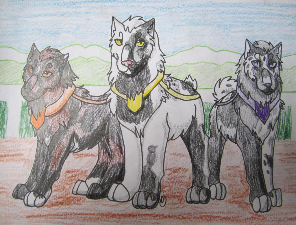 RoK-Lilith, Nixon, Shadrach by taikunfoo