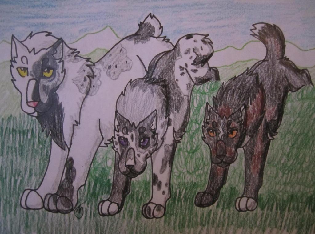 RoM-Honor-Lilith, Nixon, Shadrach by taikunfoo