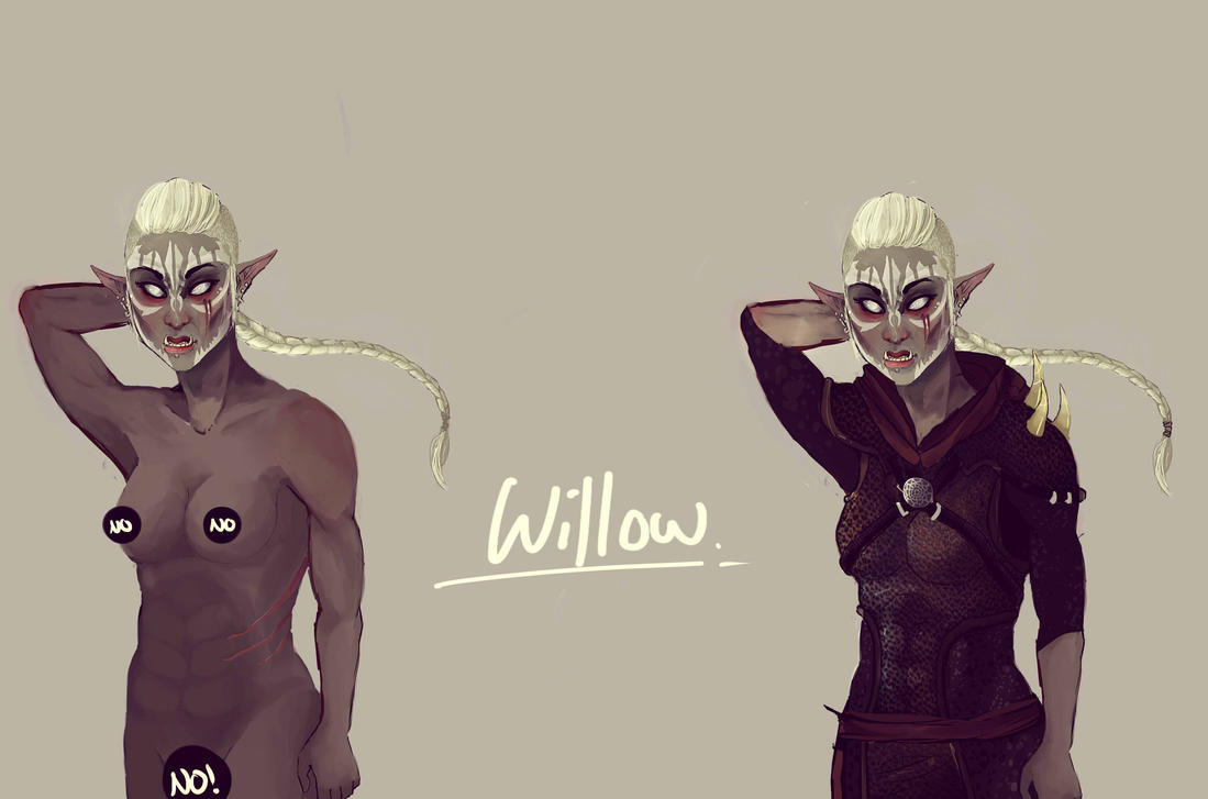 Willow Ref by MissPh0enix