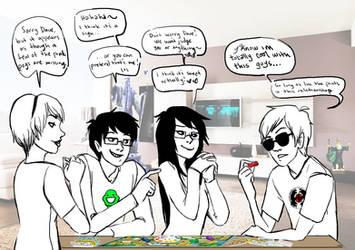 Kids in the Game of LIFE by MKayStampede