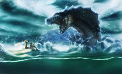 Sea Fight by AsellusKamijo